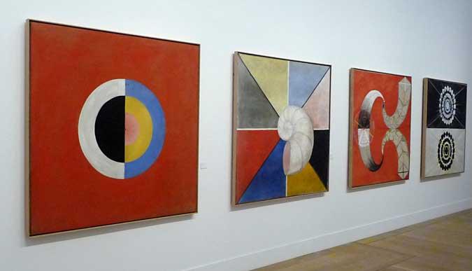 4 verk av Hilma af Klint