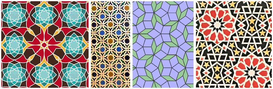Arabiska mönster - exempel