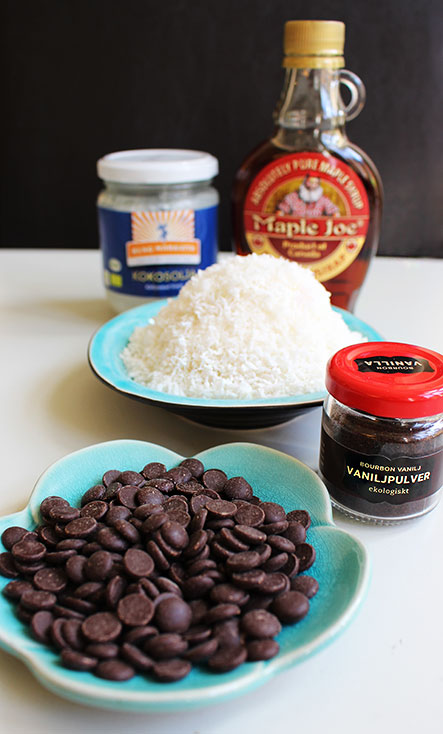 Kokosgodis - ingredienser