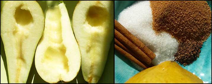 Päronsmör ingredienser